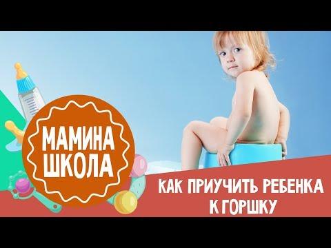 Как приучить ребенка к горшку 3 года