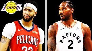 How the Lakers Can Get Anthony Davis and Kawhi Leonard