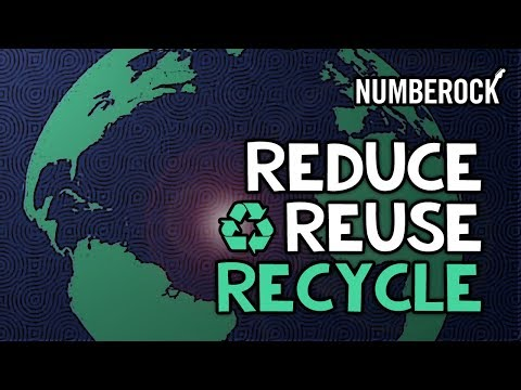 Reduce, Reuse, Recycle Song For Kids | The 3 R's Rap (2018-2019)