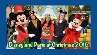 Disneyland Paris Vlog - November 2016(Christmas time at Disneyland Paris! ▻ Disneyland Paris July Vlog: https://youtu.be/okhzGPJQTEM ▻ Twitter: https://twitter.com/Sam4God ▻ Instagram: ..., 2016-11-29T11:22:26.000Z)