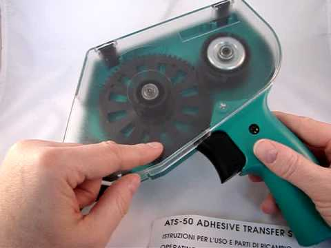 Atg 50 Tape Dispenser Tape Gun Tutorial Youtube