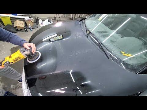 Полировка автомобиля своими руками после покраски видео уроки