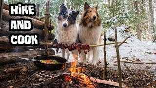 Hike and Cook at My Bushcraft Camp