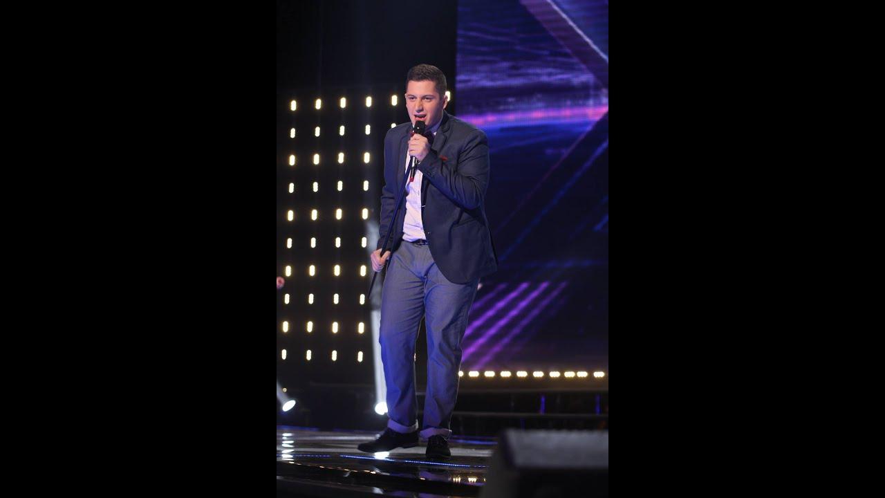 Shoti Tatishvili I feel good შოთი ტატიშვილი  X Factor  სკამების ტურის სრული ვერსიაFull version