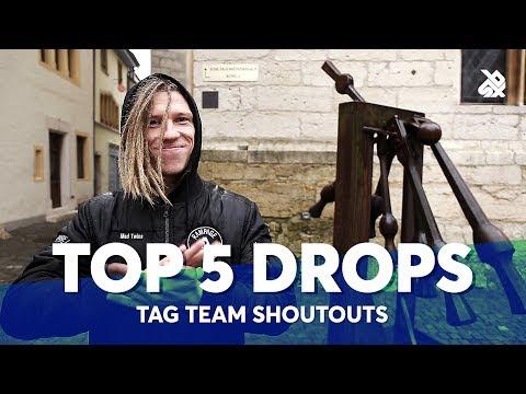 TOP 5 DROPS 😱 Tag Team Shoutouts