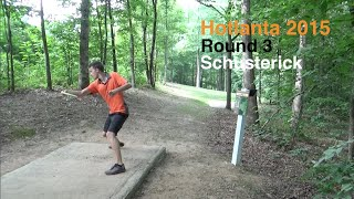 Round 3 - Hotlanta 2015 - Will Schusterick - Disc Golf