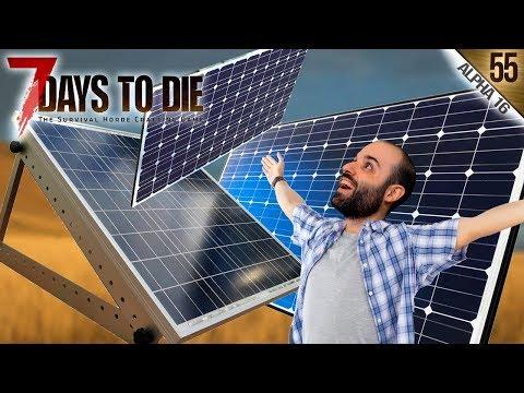 7 DAYS TO DIE A16 #55 | LOS PANELES SOLARES PROMETIDOS | Gameplay Español