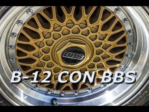 NISAN B-12 Con rines BBS // TSURU 2