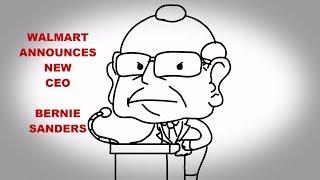 Corporate Profits Explained (Bernie Sanders CEO of Walmart??)