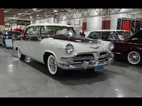 1956 Dodge Coronet Lancer & Engine start up @ World of Wheels on My Car Story with Lou Costabile