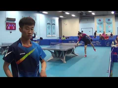 Westchester Table Tennis Center June 2017 Open Singles Semi Final - Jun Han Wu vs Kai Zhang