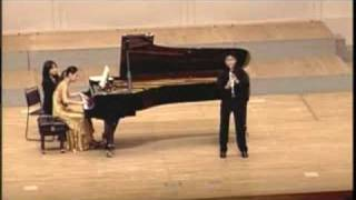 HAN and Woori Ko plays Grand Duo Concertant 1st movement by Weber in Japan Clarinet Festival