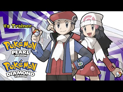 Pokemon Diamond/Pearl/Platinum - Battle! Trainer Music (HQ)