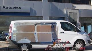 Ford Transit Custom Van en Español, prueba de conducción, manejo