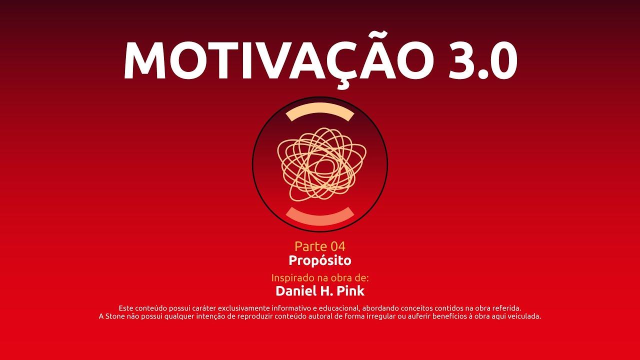BIBLIOTECA STONE EDUCA | Motivação 3.0 (Drive) - Aula 04