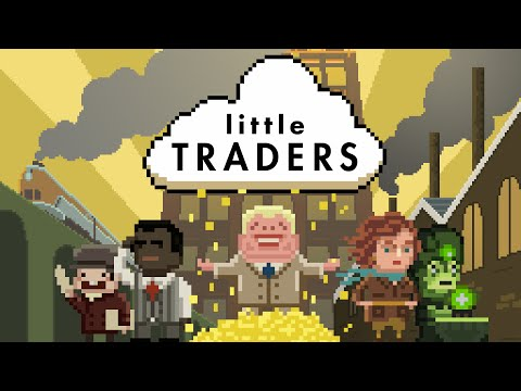 "tradimo's mobile stock market game ""Little Traders"" is now in the App Store"
