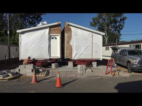 Friday September 16 Set Crew Puts Two Parts Of A