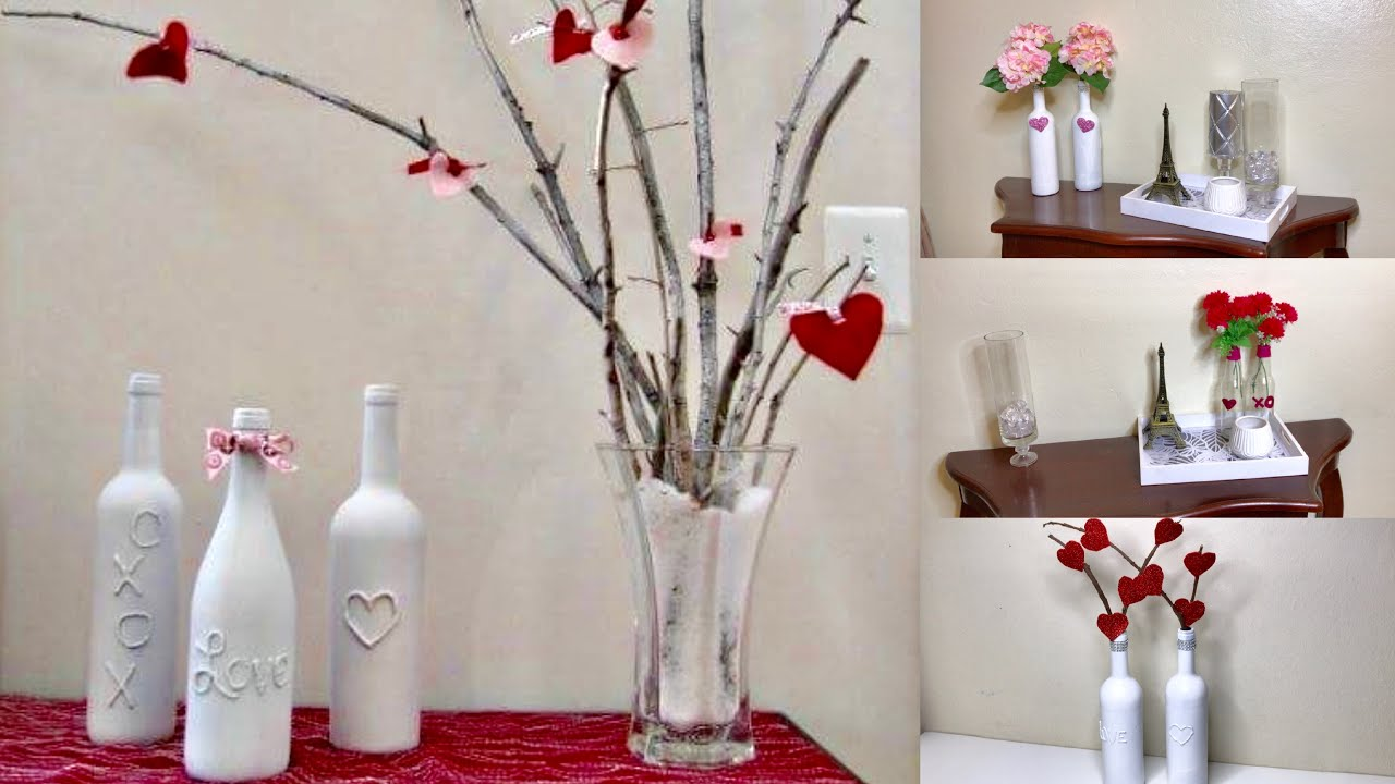 3 Ideas Para Decorar Con Botellas En San Valentin