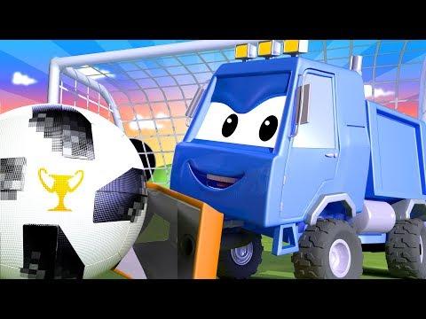 Tom o caminhão de reboque -  Especial Fifa - O Arado do Sam -  Cidade do Carro 🚗 Desenhos Animados