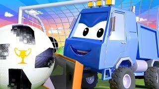 Tom, o caminhão de reboque -  Especial Fifa - O Arado do Sam -  Cidade do Carro 🚗 Desenhos Animados