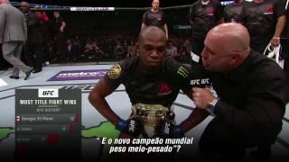 UFC 214: Entrevista no octógono com Jon Jones