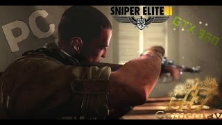 Sniper Elite 3- [PC] Ultra graphics gameplay(gtx960 2gb)!!!!