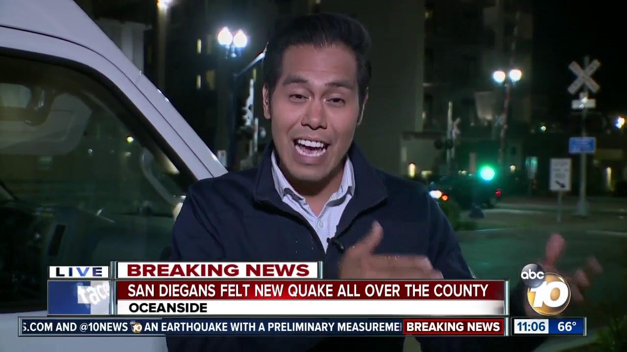 5.5 magnitude earthquake strikes near Ridgecrest in San ...