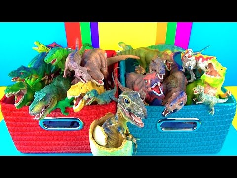 Dinosaur Box | T rex Toy Collection | Tyrannosaurus Kids Toys | 3D Puzzle Surprise Egg