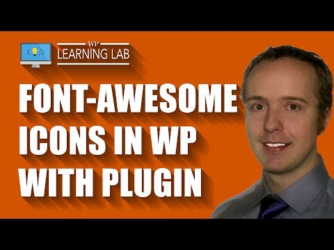 Add Font Awesome Icons To WordPress Using A Plugin