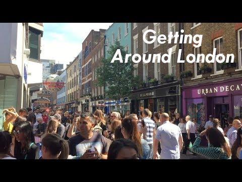 Planning My Journeys & Getting Around London