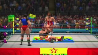 WIWA Wrestling Match #34: Zangief vs Christine