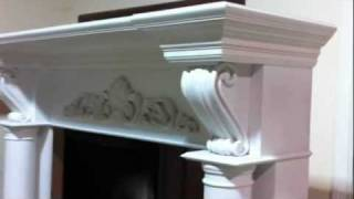 The Atlanta Fireplace Mantel