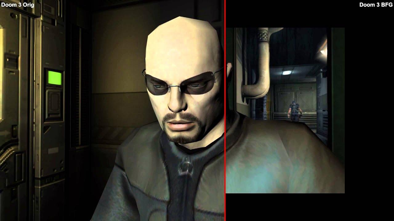Doom Wallpaper Hd Doom 3 Bfg Edition Vs Doom 3 Original Comparison Pc