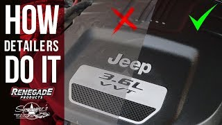 Clean an Engine Bay in MINUTES | Renegade Products
