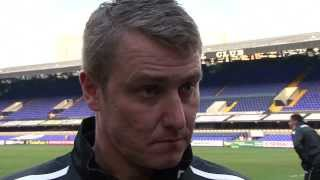 Clark frustrated with scruffy goal | Ipswich Town 1-0 Birmingham City | Interview