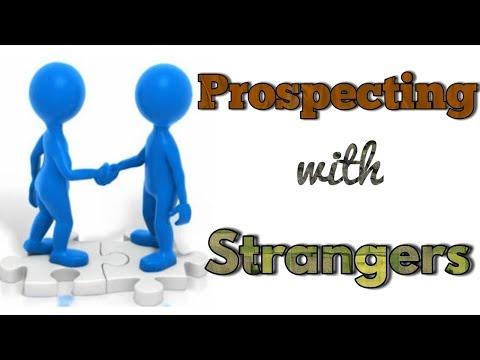 Prospecting with strangers Hindi, Urdu | by Mr. KK Sinha Motivational Speaker.