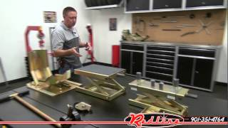 Redline MC615R Motorcycle Lift Table by K&L Supply