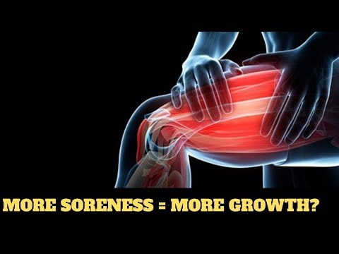 Weekly Educational Series - More soreness = more growth?