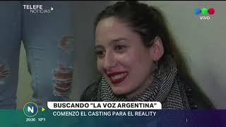 CASTING EN CÓRDOBA PARA LA VOZ ARGENTINA