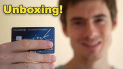 Chase Ink Preferred UNBOXING! Best Business Credit Card?