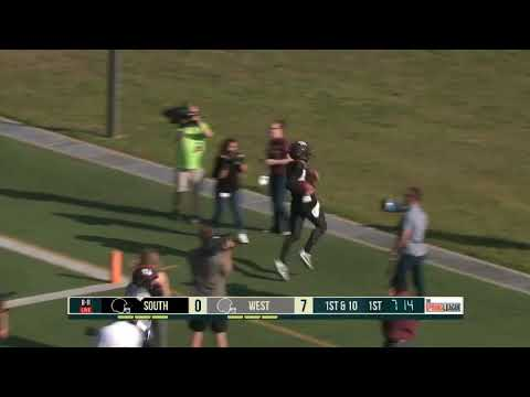 Johnny Manziel Scores Two Touchdowns in Second Game of The Spring League