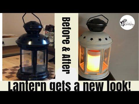 Farmhouse Lantern DIY