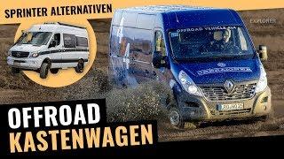 Offroad Campingbus – 🚐 – Alternativen zum Sprinter 4x4 Kastenwagen