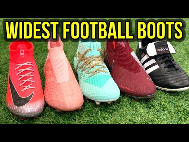 THE BEST FOOTBALL BOOTS FOR WIDE FEET