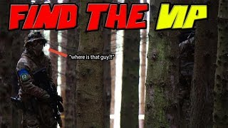 Find The VIP! - Airsoft Sniper Mission (Silverback SRS Gameplay)
