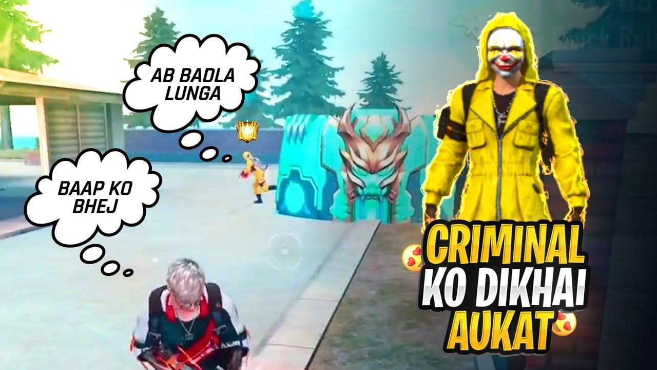 Yellow Criminal bundle Try To Take Revenge😡😡 #FreeFire #Xmania
