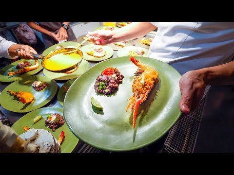 Amazing Michelin Star THAI FOOD at Le Du | Asia's 50 Best Restaurants