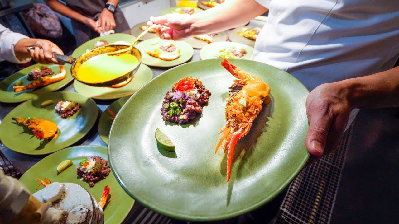 Amazing Michelin Star Thai Food At Le Du Asia S 50 Best Restaurants Youtube