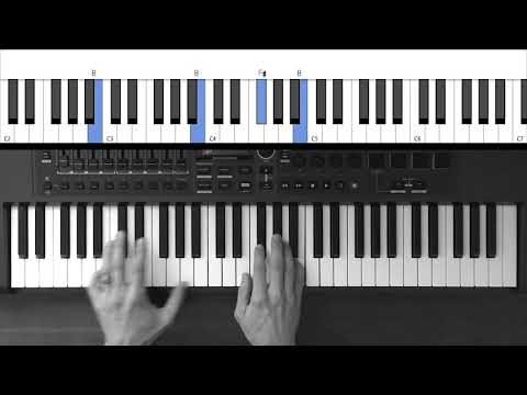 Piano Tutorial - Flood the Earth by Jesus Culture