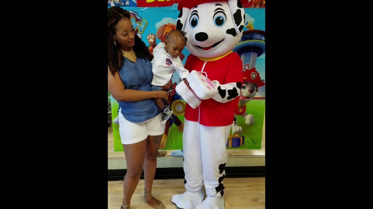 Camdens 1st Birthday Party Paw Patrol Pt 3